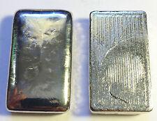 "2 OZ 999.0 Pure BISMUTH SPM Bullion ""Hand Poured"" Ingot (Great Invest) a"