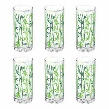 Cello D'Ziner Empire Glassware Tumblers - 6 Pcs Set Printed Water Serving Glass