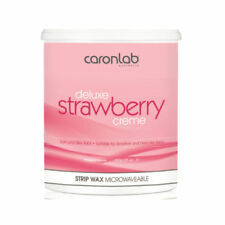 Caron Cream Deluxe STRAWBERRY Creme Soft STRIP WAX Depilatory - 800g TUB