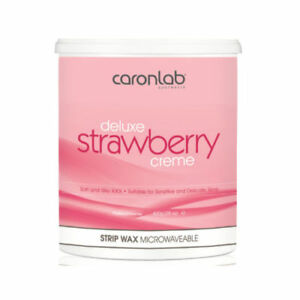 Caron Cream Deluxe STRAWBERRY Creme Soft STRIP WAX Depilatory - 800g TUB