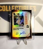 2020 Donruss Willy Adames Classified Auto TAMPA BAY RAYS