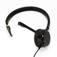 Jabra Evolve 20 Mono Headset USB Wired Skype Zoom Good Clean Condition Tested