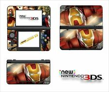 SKIN STICKER AUTOCOLLANT - NINTENDO NEW 3DS - REF 181 AVENGERS IRON MAN