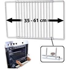 Backblech: Universal-Backofenrost, ausziehbar von 35 - 61 cm, 32 cm tief