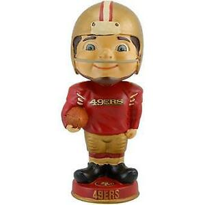 San Francisco 49ers Vintage Bobblehead NFL