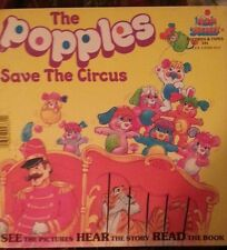 THE POPPLES SAVES THE CIRCUS Vintage Paperback Book 1986 Very Good Free Shipping