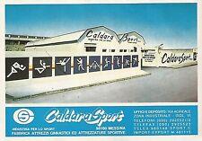 X0263 Caldara Sport - Messina - Pubblicità 1992 - Vintage Advertising