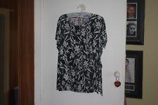 Millers Ladies Black & White Top Size 20