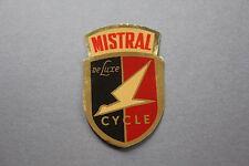 MZ Ancien autocollant MISTRAL de Luxe cycle vélo marque