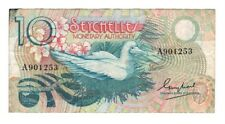 SEYCHELLES 10 Rupees VF Banknote ND (1979) P-23 Paper Money