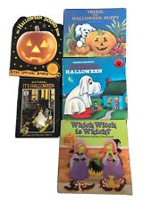Lot of 5 Halloween Children Picture Books
