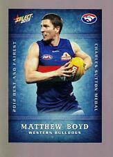 2013 Select Best and Fairest Card - Matthew Boyd  BF18