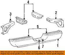 Rear Bumper-Step Pad Protector Scratch Guard Cover Left 55034461