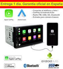 2DIN Car Play y Android Auto Autoradio Bluetooth MP5 Play USB SD AUX MP3 Play FM