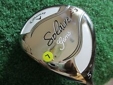"Callaway Solaire Gems fairway wood 5 Wood 5W/Callaway 55g W-flex graphite LH 42"""