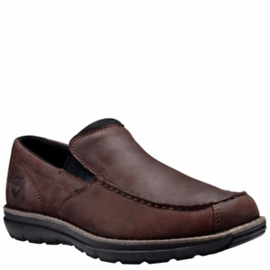 NWT Timberland Men's Edgemont Slip-on Shoes Dark Brown A17YV Black A17YR Leather