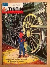 LE JOURNAL DE TINTIN - 752 : 21 mars 1963