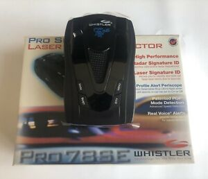 Whistler PRO-78 SE Radar Detector !!!FREE SHIPPING!!!