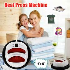 Portable T Shirt Heat Press Machine Mat Sublimation Printer Diy 1210 Inch
