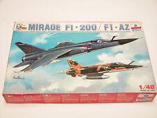 1/48 ESCI ERTL Dassault MIRAGE F1-200 F1-AZ Scale Plastic Model Kit Complete E