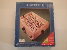 Vintage Playskool Labyrinth Game Board Solid Wood 1995 WITHOUT the Steel Ball