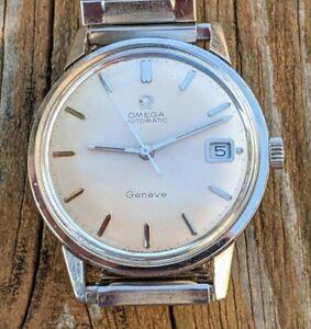 Vintage Gents Steel Seamaster Omega Calander Watch,  Running & Minty