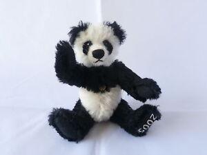 Teddy Hermann fully jointed mohair  2005 panda club bear