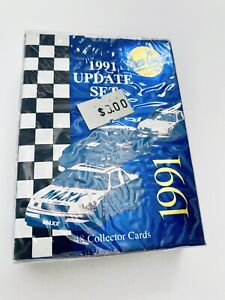 1991 Maxx Update NASCAR Racing COMPLETE Set Sealed 48 cards