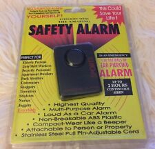 The Amazing Safety Alarm multi-purpose body alarm sports personal alarm