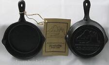 Old Mountain Cast Iron Pre Seasoned Spoon Rest Mini-Skillet- 2pk.