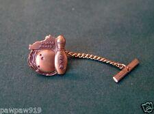 TIE TAC TACK PIN BRASS BOWLING HONOR AWARD KENTUCKY METAL VINTAGE 1970 USED
