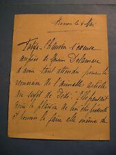 TATYA-CHAUVIN Autographe Signé 1930 ACTRICE COMEDIENNE ROUEN DELAMARE
