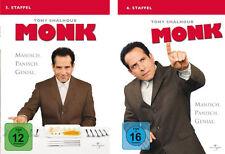 8 DVDs  * MONK -  STAFFEL 5 + 6 IM SET  # NEU OVP +