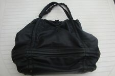GRAND sac cuir souple noir REPETTO  made in Italy     photos mesures