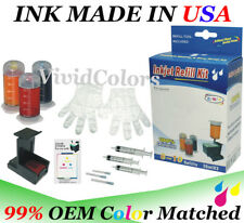 Color Ink Cartridge HP75 Refill tool Ink