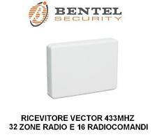 ricevitore radio espansione ricevente bentel 32 zone wireless 433 mhz vrx vector