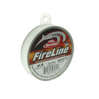 FireLine Braid Bead Thread Size B .005 50y Crystal Clear 41446 Beadsmith