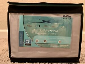 Brand new Sheex Artic Aire Max Performance sheet set in Queen (Silver)