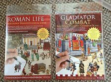 Gladiatore Lotta E VITA ROMANA RUB verso il basso di trasferimento pacchetti di attività
