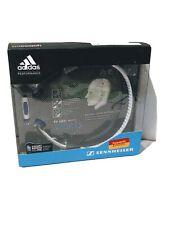 Sennheiser PX 685i Adidas Sports Headband Headphones White IPOD IPAD IPHONE NEW