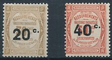 [38200] France 1917 Good postage de set Very Fine MH stamps