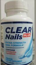 Clear Nails Plus Extra Strength Nail Formula Toenail Fingernail Fungus Supplemen