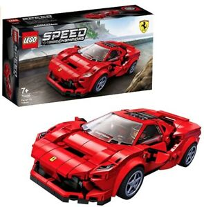 lego speed champions Red ferrari F8 Tributo  For Children 7 Year And Up