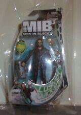 Men in Black 3 Boris Action Figure with jet pack Accessory 2012 New On Card