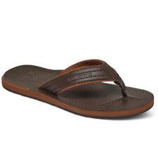 Sandali e scarpe Infradito Quiksilver marrone per il mare da uomo