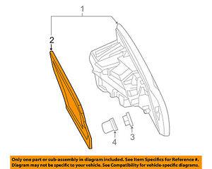 MERCEDES OEM 16-18 GLE63 AMG S-Backup Lamp Assembly Gasket Left 2928260300