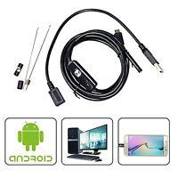 5.5MM Flex Snake Micro USB Endoscope Waterproof Camera for Samsung Galaxy S6 S7