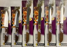 6PC Kiwi Brand Stainless Steel Fruit Vegetable Paring Knives set No 501 502 503
