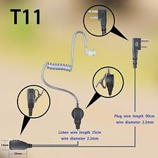 1-wire Headset Earphone mic For Icom IC-V88 IC-G80 IC-F4210D walkie talkie