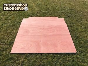 VW Baywindow 1968 - 1979 Camper Van Interior 9mm Floor Ply Lining Kit